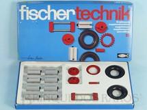 Brinquedos Antigos - Fischer  - Conjunto de Montar Fischer Technik número 15 Década de 1970