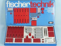 1. Brinquedos antigos - Fischer  - Conjunto de Montar Fischer Technik número 25 Década de 1970