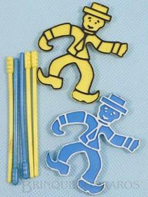 1. Brinquedos antigos - Estrela - Conjunto de peças para o Jogo Segure se Puder Década de 1970