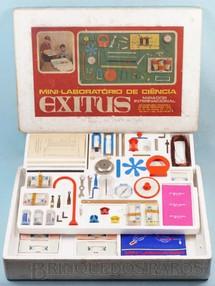 Brinquedos Antigos - Encyclopaedia Britannica - Conjunto Mini-Laborat�rio de Ci�ncia Exitus Mirador Internacional D�cada de 1970
