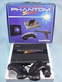 1. Brinquedos antigos - Gradiente - Console Phantom System Completo sem Cartucho e sem  Manuais 100% original Perfeito estado com mesmo Número Serial Ano 1989