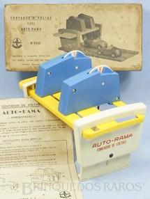1. Brinquedos antigos - Estrela - Contador de Voltas licença Gilbert Co. Ano 1963 a 1965