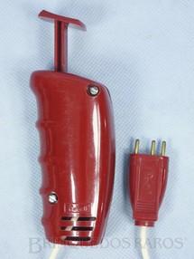 1. Brinquedos antigos - Revell - Controlador Acelerador de velocidade vermelho Década de 1960