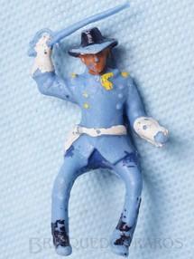 Brinquedos Antigos - Casablanca e Gulliver - Coronel da Sétima Cavalaria montado a cavalo com sabre RESERVED***JN***