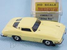 1. Brinquedos antigos - Aurora - Corvette Sting Ray Série Thunder Jet 500 Model Motoring Década de 1960