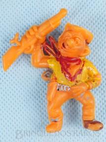 1. Brinquedos antigos - Casablanca e Gulliver - Cowboy a cavalo com rifle Série Brincalhões de Forte Apache Ano 1973