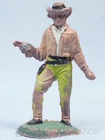 Brinquedos Antigos - Casablanca e Gulliver - Cowboy andando com revolver Gulliver D�cada de 1970