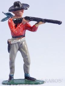 Brinquedos Antigos - Casablanca e Gulliver - Cowboy Atirador de p� atirando com rifle Casablanca numerado 116
