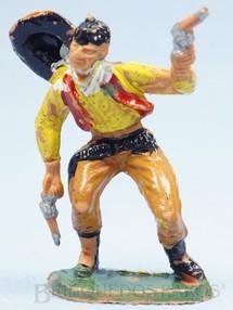 1. Brinquedos antigos - Casablanca e Gulliver - Cowboy baleado Gulliver Década de 1970
