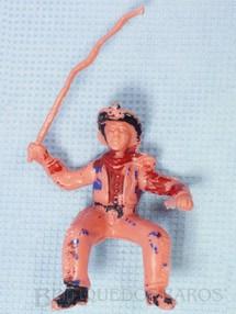 1. Brinquedos antigos - Casablanca e Gulliver - Cowboy com chicote Gulliver numerado 126 para carroças de madeira