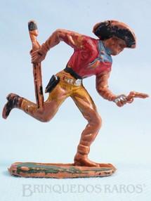 1. Brinquedos antigos - Casablanca e Gulliver - Cowboy correndo com rifle e revolver