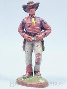 Brinquedos Antigos - Casablanca e Gulliver - Cowboy de p� com as m�os no cintur�o