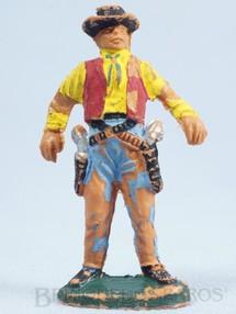 Brinquedos Antigos - Casablanca e Gulliver - Cowboy de pé em posição de duelo Gulliver Década de 1970