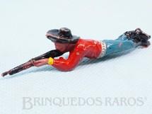 1. Brinquedos antigos - Casablanca e Gulliver - Cowboy deitado atirando com rifle Casablanca numerado 117