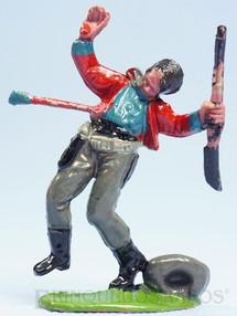 1. Brinquedos antigos - Casablanca e Gulliver - Cowboy ferido por Flecha Casablanca numero raspado Década de 1960