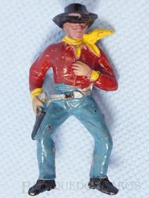 Brinquedos Antigos - Casablanca e Gulliver - Cowboy montado a Cavalo Casablanca numerado 127