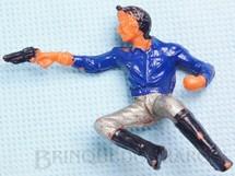 Brinquedos Antigos - Casablanca e Gulliver - Cowboy Sentado atirando com revolver Casablanca Numerado 130 Distribu�do pela Viocena para a Diligencia S�rie Gunsmoke