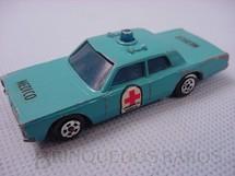 1. Brinquedos antigos - Esdeco - Cruiser Médico Muky Superveloz cópia do Police Cruiser lançado pela Hot Wheels em 1969 Década de 1970