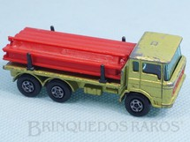 Brinquedos Antigos - Matchbox - DAF Girder Truck Transitional Wheels