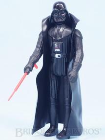 Brinquedos Antigos - Glasslite - Darth Vader Star Wars Lucas Film perfeito estado completo com Capa e Sabre de Luz Década de 1980