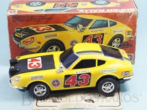 1. Brinquedos antigos - Estrela - Datsun 240z Super Rally com 26,00 cm de comprimento Sistema Bate e Volta com Farol que acende Ano 1981