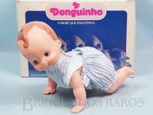 1. Brinquedos antigos - Trol - Denguinho o Bebê que Engatinha com 25,00 cm de comprimento Década de 1980