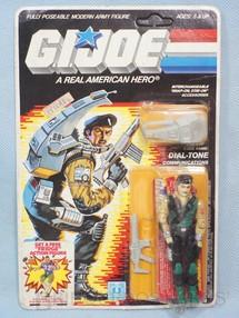 1. Brinquedos antigos - Hasbro - Dial Tone completo Blister lacrado Ano 1985
