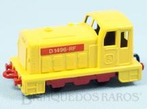 1. Brinquedos antigos - Matchbox - Diesel Shunter Superfast amarelo