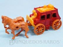 1. Brinquedos antigos - Corgi Toys-Kiko - Diligência Stage Coach Série Wild West Brazilian Corgi Jr Kiko Década de 1980