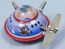 1. Brinquedos antigos - Sem identificação - Disco Voador com 5,00 cm de diâmetro Década de 1980