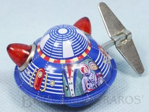 Brinquedos Antigos - Sem identificação - Disco Voador com 5,00 cm de diâmetro Década de 1980