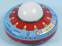 Brinquedos Antigos - Metalma - Disco Voador Patrulha do Espaço com 20,00 cm de diâmetro Década de 1970