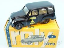 1. Brinquedos antigos - Roly Toys - DKW Vemag Vemaguete DNER com 6,00 cm de comprimento Década de 1960