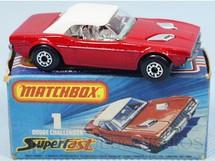 Brinquedos Antigos - Matchbox - Dodge Challenger Superfast