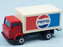 1. Brinquedos antigos - Matchbox - Dodge Delivery Truck Superfast Pepsi