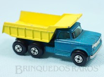 1. Brinquedos antigos - Matchbox - Dodge Dumper Truck Superfast