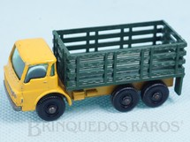 Brinquedos Antigos - Matchbox - Dodge Stake Truck black plastic Regular Wheels