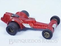 1. Brinquedos antigos - Tonka - Dragster Strip Whip com 8,5 cm de comprimento Série Tonka Tote Carroceria de plástico metalizado Década de 1970