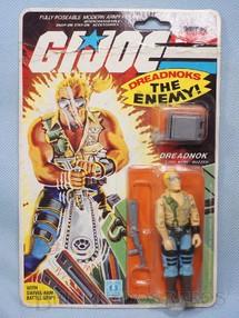 1. Brinquedos antigos - Hasbro - Dreadnok Buzzer completo lacrado Ano 1984