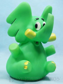 1. Brinquedos antigos - Trol - Elefante Jotalhão com 17,00 cm de altura Maurício de Sousa Década de 1970