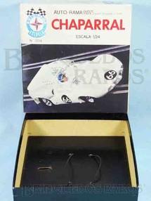 1. Brinquedos antigos - Estrela - Estrela Caixa Auto-Rama Chaparral Escala 1:24 Ano 1968