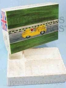 1. Brinquedos antigos - Estrela - Caixa 100% Original do Kit de Montar Jaguar de Autorama Escala 1:32 Base de isopor e tampa de papelão revestido Ano 1966