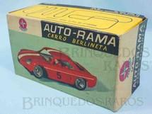 1. Brinquedos antigos - Estrela - Estrela Caixa Autorama Willis Interlagos Berlineta Escala 1:32 Ano 1965