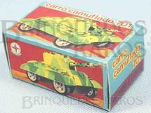 1. Brinquedos antigos - Estrela - Estrela Caixa Carro de Combate Camuflado Ano 1972