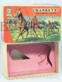 1. Brinquedos antigos - Estrela - Estrela Caixa Charrete de Derbi-Rama Ano 1968
