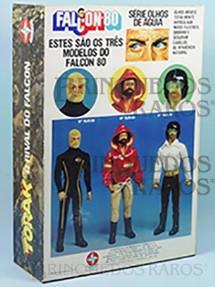 1. Brinquedos antigos - Estrela - Estrela Caixa do Torak inimigo do Falcon Ano 1982