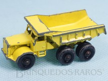 Brinquedos Antigos - Matchbox - Euclid Quarry Truck black plastic Regular Wheels