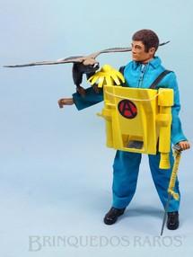 1. Brinquedos antigos - Estrela - Falcon Aventura Ataque da Águia Selvagem Escalada com o Lança Gancho 100% original completo com Águia e mais 4 itens Edição 1978 Preço sem o Boneco