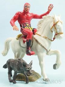 1. Brinquedos antigos - Casablanca e Gulliver - Fantasma a cavalo com Capeto Década de 1980