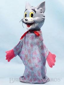1. Brinquedos antigos - Estrela - Fantoche do Tom da História Tom e Jerry 22,00 cm de altura Cabeça de massa Década de 1950